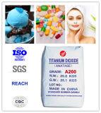 diossido di titanio sano di 99%Purity Anatase per alimento e le estetiche (A200)