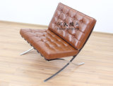 Présidence de Barcelone/sofa classique moderne de créateur de meubles/reproduction/fauteuil en cuir de la moitié du siècle
