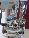 dispersor del mezclador del homogeneizador del vacío del laboratorio 1L