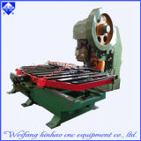 Abrir el tipo máquina del sacador de 40t para la placa de acero