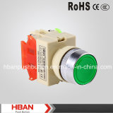 Ce RoHS 22mm Plastic Drukknop Switch
