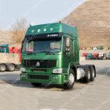 HOWO 6X4 336HP verließ,/rechter Laufwerk-Traktor-LKW-Kopf, Schlussteil-Kopf