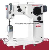 Máquina de coser del zigzag de la cama del poste, fábrica de la máquina de coser