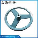 Rueda volante del bastidor de la cubierta de la rueda volante del arrabio de las piezas del motor del OEM Deutz Disel para el shell de la rueda volante