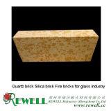 Ladrillo de cuarzo Ladrillos de ladrillo de sílice para la industria del vidrio