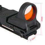 Tactical Railway Aluminium Red DOT Scope avec Click Switch Cl2-0109