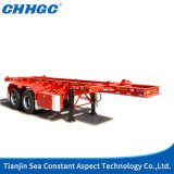 Carro Trailer los 40FT Skeleton Container Semi Trailer Sale