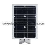 6W integrou tudo em uma luz de rua solar do diodo emissor de luz