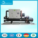 Refrigerador de refrigeração água do parafuso do Cabeça-Poder