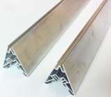 Rivestimento di alluminio della polvere di profilo dell'espulsione di finitura del laminatoio, rottura termica, anodizzante, argento che lucida, polacco dorato