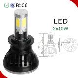 LEIDENE van het Deel van de fabrikant AutoHi/Lo Hoofd Lichte 40W 4000lm Auto Lamp Straal H4