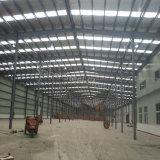 Taller porta prefabricado de la estructura de acero de la luz del marco con la oficina