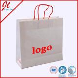 Bolsas de papel de las compras de la manera con insignia
