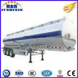 3 semi-remorque de camion-citerne aspirateur d'alliage d'aluminium de l'essieu 52cbm