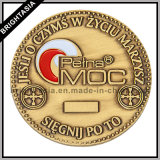Custom Two Sides Logos (BYH-10804)の3D Metal Coin