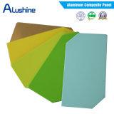 Feuille en plastique en aluminium/Acm du composé Panel/ACP de qualité