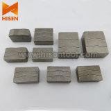 Segmentos de diamante para múltiples cuchillas (corte de bloques de granito)