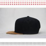 Cappelli della protezione di Snapback tinti filato con il marchio del ferro