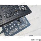 Meubles de fonte d'aluminium, meubles extérieurs Ca-640tc