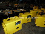 Nuovo 5kw Black Diesel Generator con Four Wheels