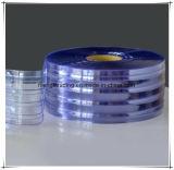 Tenda di portello trasparente costolata del PVC