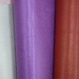 Strukturiertes PU-Leder für Schuh, geprägtes Beutel-Leder, Notizbuch-Leder