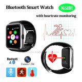 Вахта Bluetooth франтовской с монитором тарифа сердца (K68H)