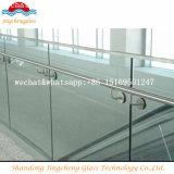vidro laminado moderado 6+0.76+6mm para o Guardrail