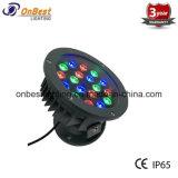 옥외 정면 프로젝트를 위한 최신 판매 18W RGB LED 빛