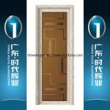 Portello di vetro di alluminio cinese della stoffa per tendine del comitato di prezzi di fabbrica di Foshan di marca del principale 10