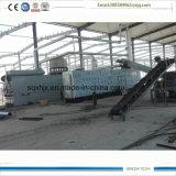La última generación planta completamente continua de la pirolisis de 15 toneladas a de 20 toneladas para el neumático y el plástico