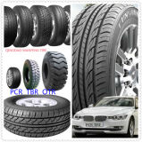 Neumático de coche de la polimerización en cadena de la alta calidad de la marca de fábrica de Hilo nuevo, neumático radial