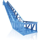 Deux étapes de sécurité Escalator avec le système VVVF économie d'énergie
