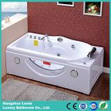Vasca di superficie solida bianca pura superiore di massaggio (TLP-634-G)