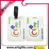 최신 판매 다채로운 로고 연약한 수화물 꼬리표
