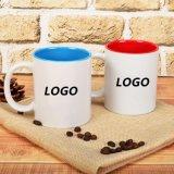 Color dentro de la taza de cerámica con diseño del cliente en precio bajo