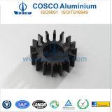 Aangepast Aluminium/Aluminium Heatsink met het Zwarte Anodiseren