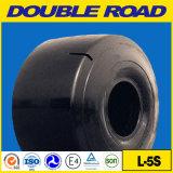 Qingdao fora da roda de giro elétrica de borracha do pneu pneumático 4.00-8 do pneumático da estrada