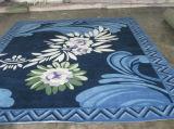 Stuoia di portello di lusso della moquette delle lane del reticolo di fiore della tessile