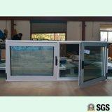Alta qualidade, cor cinza, perfil de alumínio, inclinação e janela de giro, janela de alumínio, janela K04003