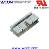 en-tête de cadre de 2.54mm (câble plat de presse)