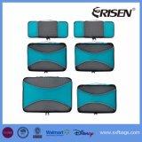 6部分のセットされる軽量のTraveの立方体-オルガナイザーおよび圧縮の袋システム
