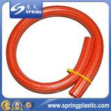 Шланг сада полива воды PVC гибким связанный волокном усиленный