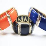 Neue Feld-Schwarz-Harz-Schmucksache-gesetzte Armband-Ohrring-Halsketten