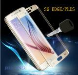 Protecteur d'écran en verre Tempered pour couverture du bord 3D de Samsung S6 la pleine