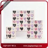 Подарок сердец переговора кладет мешки в мешки бумаги с покрытием искусствоа Valentine