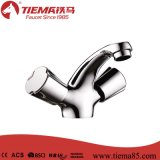 Misturador de lavatório de bronze bronzeado Classic Double Handle