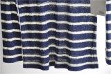 De ronde Gestreepte Trui van de Hals breit Sweater voor Dames