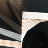 1220*2440*9/12/15/18/20/21mmのポプラのコア黒のブラウンのフィルムは構築のための合板に直面した