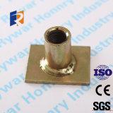 El socket de elevación del acero inoxidable con Plat la placa para el concreto prefabricado